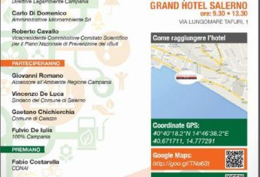 X Edition of Comuni Ricicloni Campania (Recycling Municipalities of Campania)