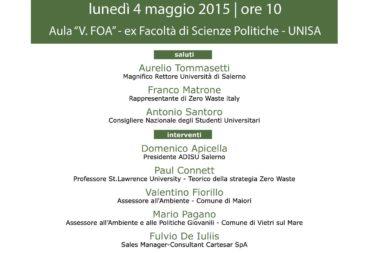Rifiuti Zero (Zero Waste): A sustainable future for the territory