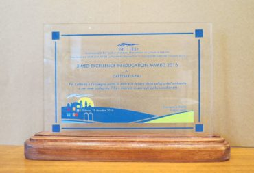 A Cartesar il BIMED Excellence in Education Award 2016