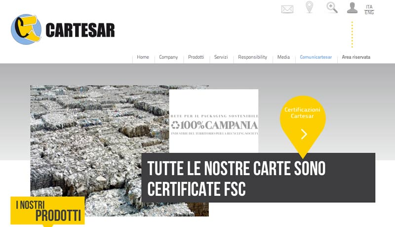 The new Cartesar website now on-line