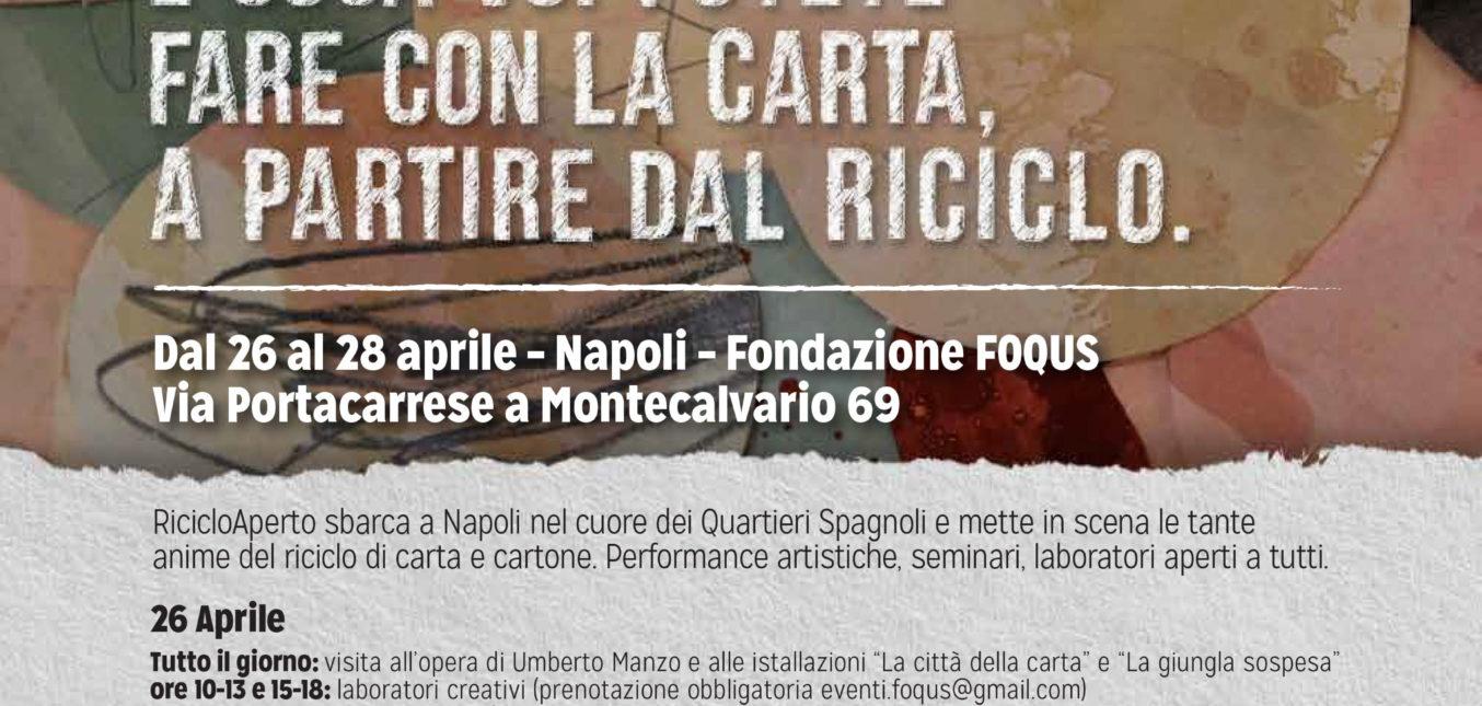 Riciclo Aperto sbarca a Napoli