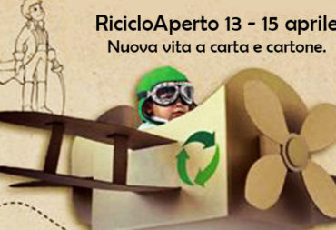 RicicloAperto (Open Recycling), new life to paper and cardboard