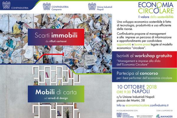WORKSHOP GRATUITO - Management e imprese alla sfida dell'Economia Circolare