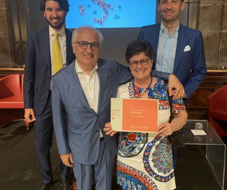 Cartesar is among the 84 Champion companies of southern Italy