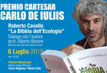 Il 6 luglio a Maiori il Premio Cartesar Carlo De Iuliis 2019