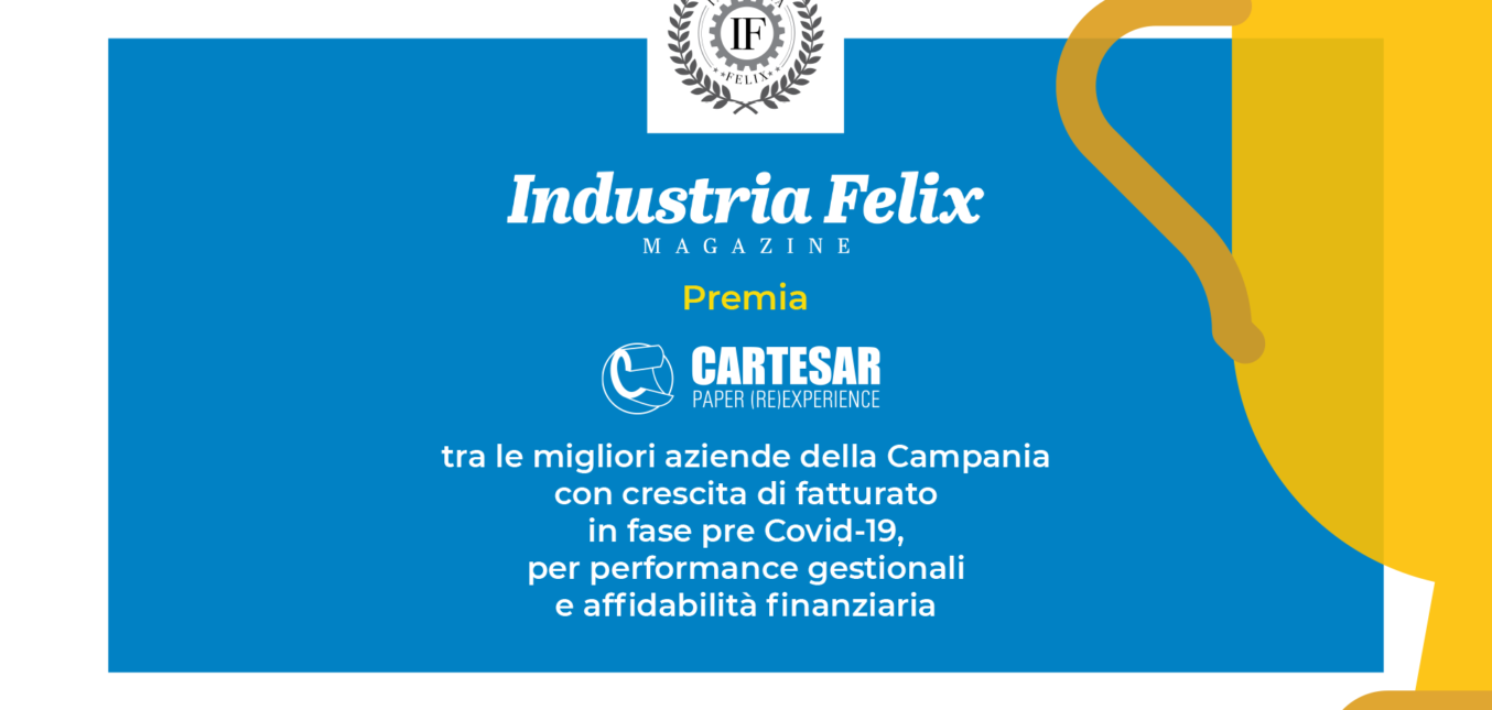 INDUSTRIA FELIX REWARDS CARTESAR AS A BELL COMPANY WITH GROWTH IN PRE COVID TURNOVER